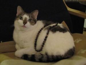 Bobby with my Tourmaline necklace