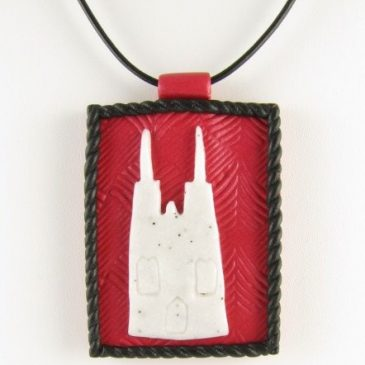 Cologne Cathedral pendant - copyright Helen White