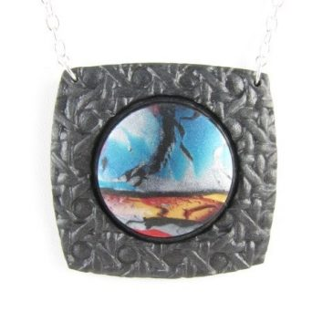 Finished pendant - landscape
