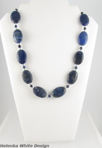 Necklace after revamp - copyright Helen White