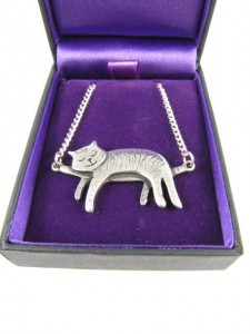 Cat pendant - bought by my husband in a gift shop in Bath.