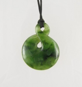 Jade Maori pendant - I bought this in a hostel in Christchurch, NZ