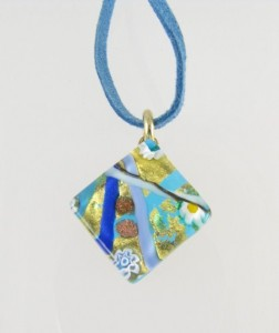 Murano glass pendant - bought in Italy.