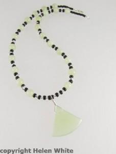 Jade necklace - copyright Helen White