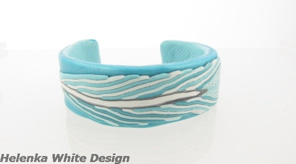Feather Cane Bangle - copyright Helen White