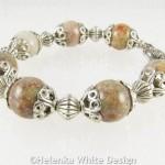 Autumn Jasper bracelet on riser 2
