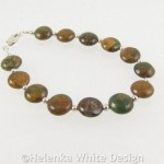 Rainbow Agate bracelet on riser