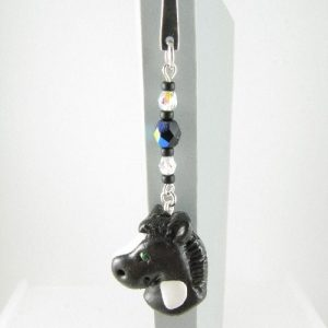 Black horse bookmark - 1