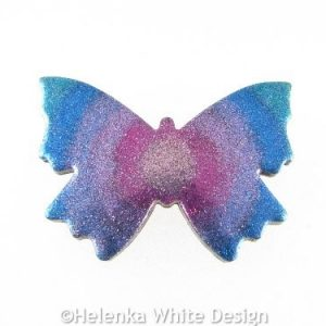 Polymer clay butterfly 4
