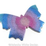 Polymer clay butterfly 4 side