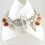 Horse charm bracelet - back