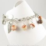 Horse charm bracelet - side 1