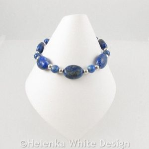 Lapis Lazuli bracelet on cone
