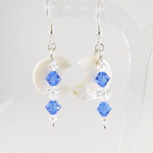 MOP Saphhire earrings 3