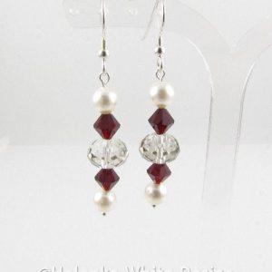 Siam Swarovski Crystal earrings 1