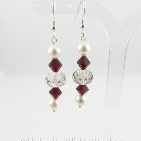 Siam Swarovski Crystal earrings 1