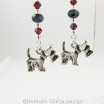 West Highland Terrier earrings