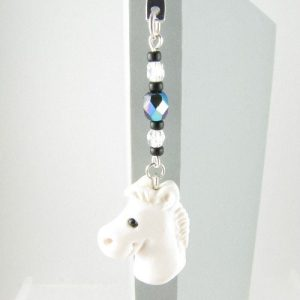 White horse bookmark - 1