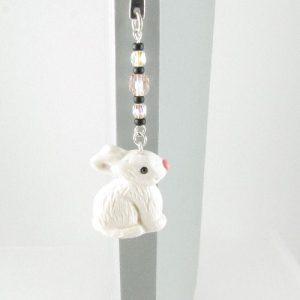 White rabbit bookmark 1