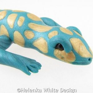 Gecko sculpture - detail