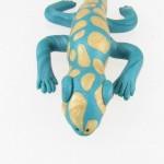 Gecko sculpture - front
