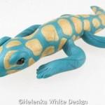 Gecko sculpture - side