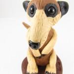 Meerkat sculpture - detail