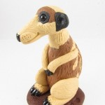 Meerkat sculpture - side