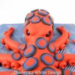 Octopus sculpture - detail