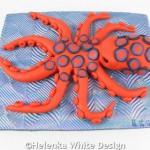 Octopus sculpture - side