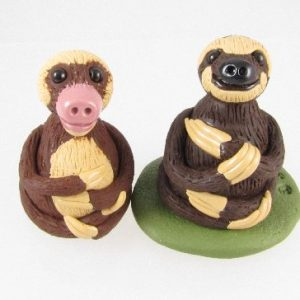 Sloths sculptures