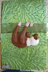 Sketchbook cover - Sloth