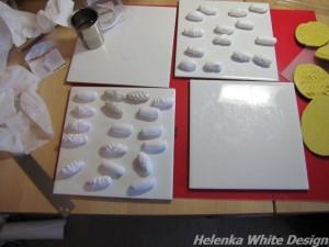 Various bead shapes.