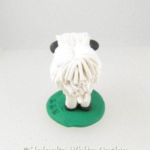 Valais Blacknose sheep - back