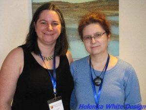 Cara Jane Hayman and me