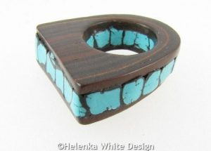 Faux Turquoise ring side