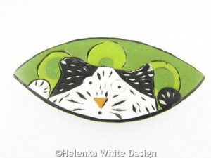 My own version of Donna' cat brooch