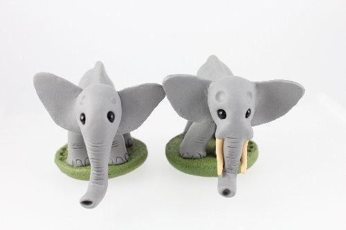Elephant sculptures