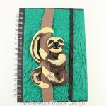 Sloth journal cover