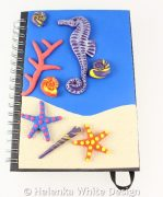 Seahorse journal without the rubber band
