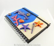 Seahorse journal with the rubber band