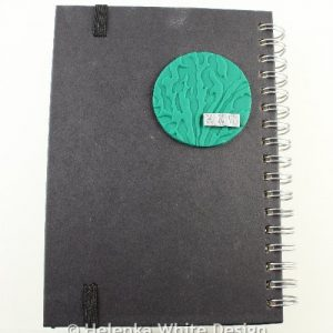Sloth journal cover - back