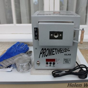 My new Prometheus kiln.