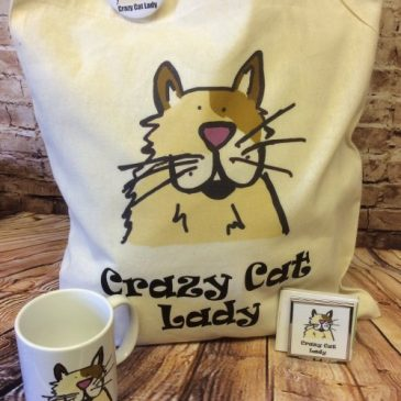 Crazy Cat Lady designs by Christine Brown