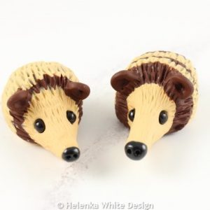 Hedgehog sculptures