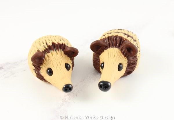 Hedgehog sculptures