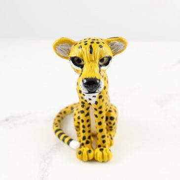 Cheetah sculpture