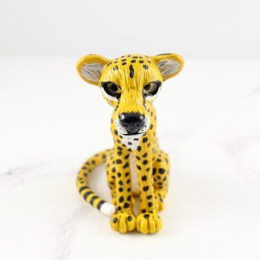 Cheetah sculpture